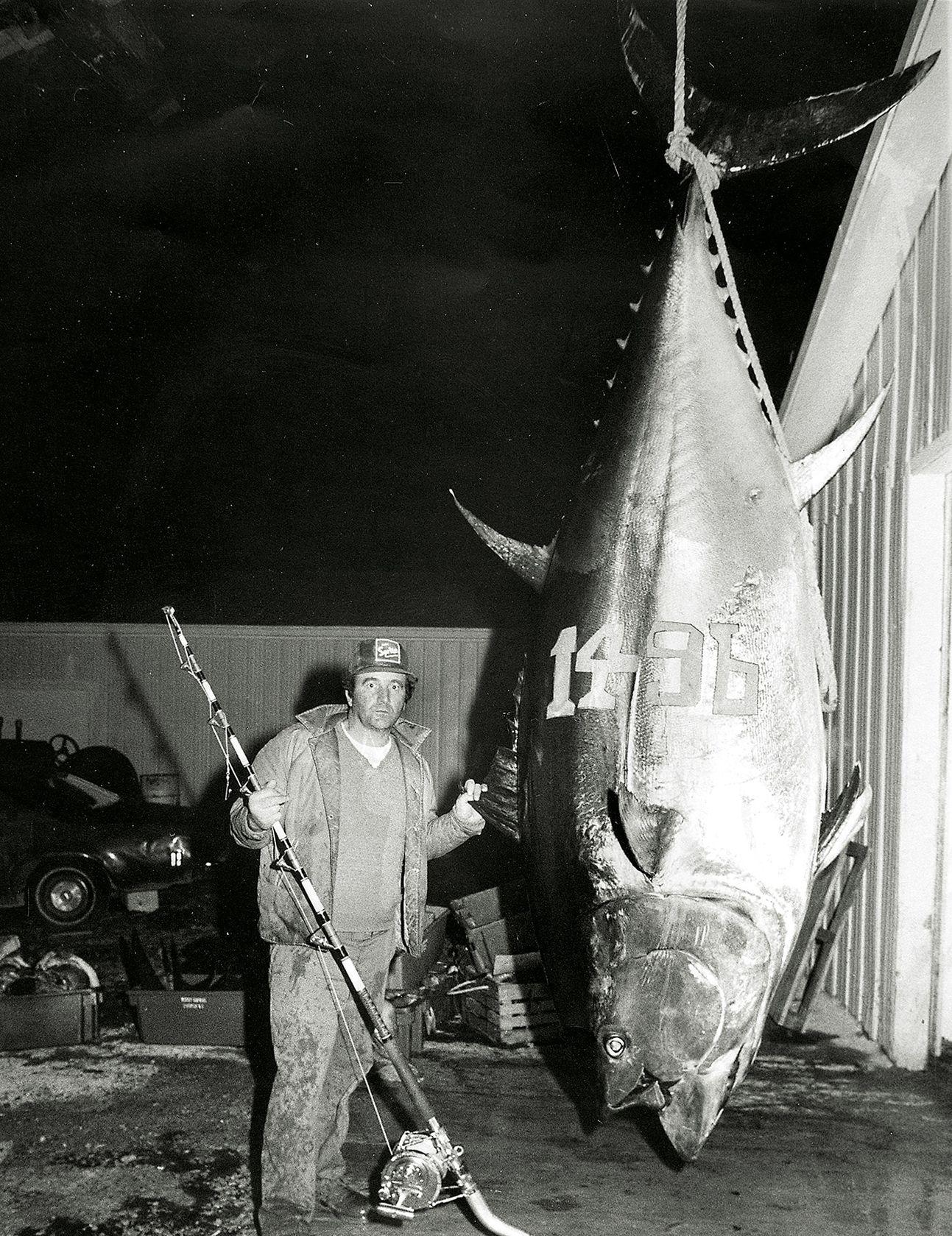 record bluefin tuna catch