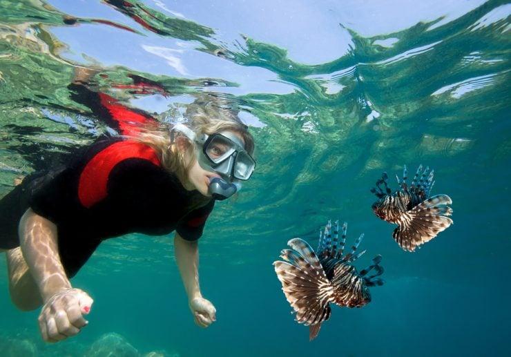 marine biology student