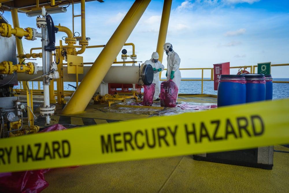 mercury ocean hazard