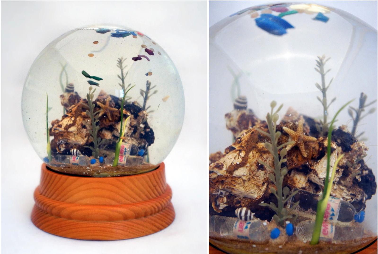 Sea Globes by Max Liboiron
