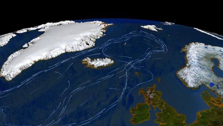 Gulf Stream Route