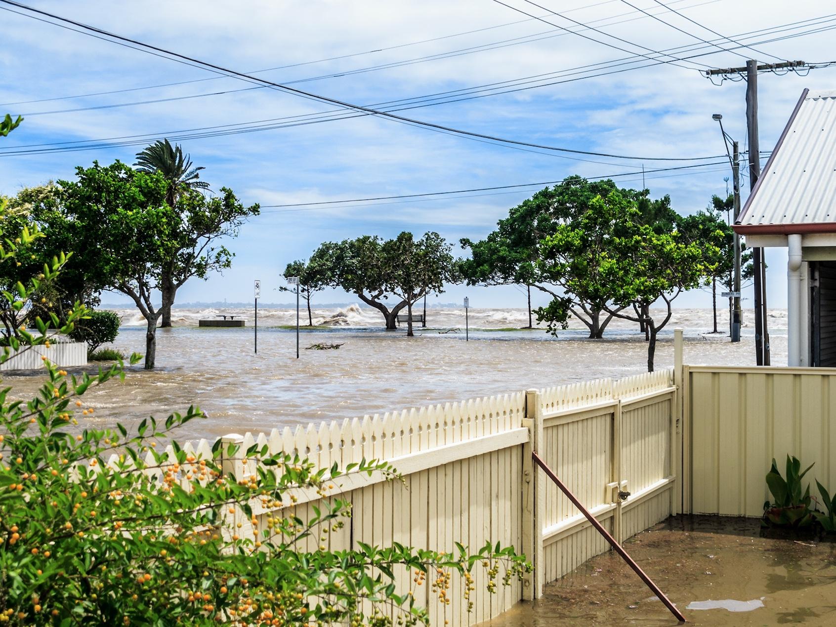 sunny day flood