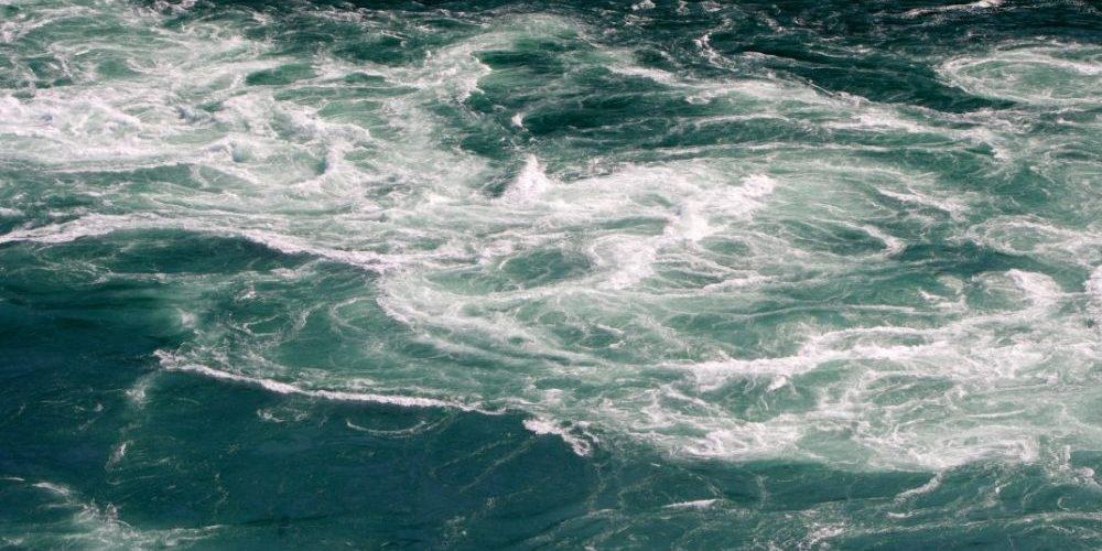 gyre on water swirling